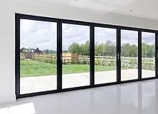 5 Metre, 5 Leaf Aluminium Bi Fold Door