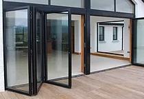 3 Metre, 3 Leaf Aluminium     Bi Fold Door