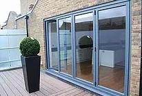 4 Metre, 4 Leaf Aluminium   Bi Fold Door:
